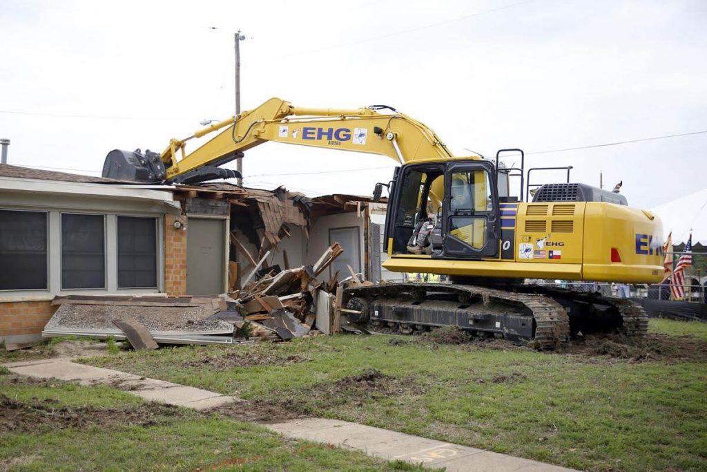 residential demolition lubbock